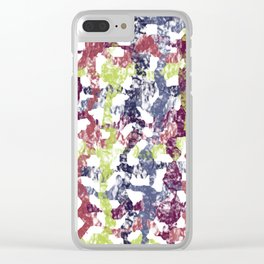 Abstract 188 Clear iPhone Case