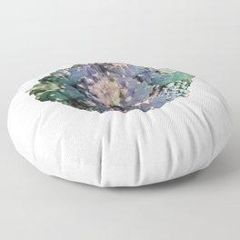 Peyote Lophophora - Psychedelic Cacti Floor Pillow