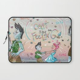 CAN'T STOP THE FEELING! Laptop Sleeve