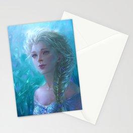 Frozen Elsa Stationery Cards