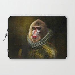 Portrait of Marquis de Mandrille Laptop Sleeve