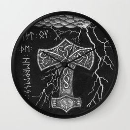 Mjölnir Wall Clock