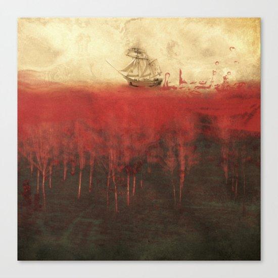 Sailing in dreams Canvas Print