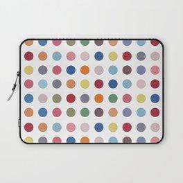 Polka Dots - Color Love Laptop Sleeve