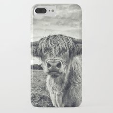 Highland Cow II Slim Case iPhone 7 Plus