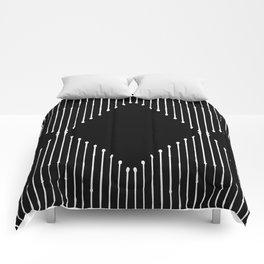 Geo / Black Comforters