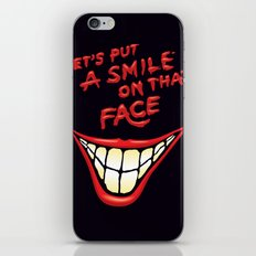 Let's Put A Smile On That Face iPhone & iPod Skin