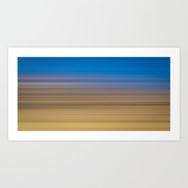 Scarborough Bay - LineScapes Art Print
