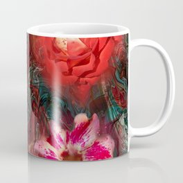 Bouquet Abstraction Series  Coffee Mug
