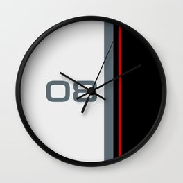 308 Racing Cup Livery Wall Clock