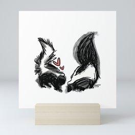 Love Stinks Mini Art Print
