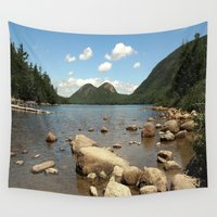 maine Wall Tapestries featuring Maine by Raymond Earley