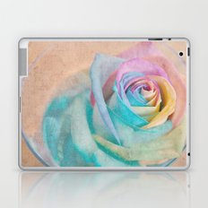 Rainbow rose Laptop & iPad Skin