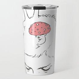 Mushroom Thoughts Travel Mug