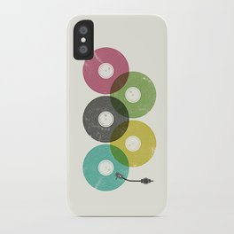 Olympic Records iPhone Case