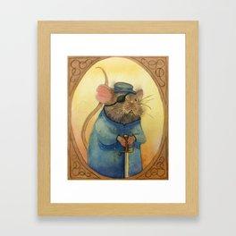 One Blind Mouse Framed Art Print