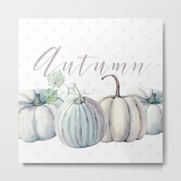 Pastel Autumn Metal Print