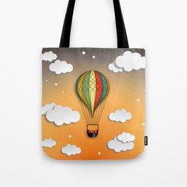 Balloon Aeronautics Dawn Tote Bag
