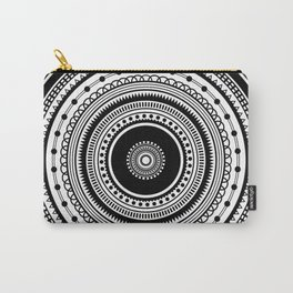 Mandala Design Carry-All Pouch