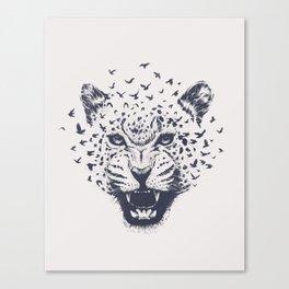 Nature´s Roar Canvas Print