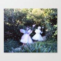 fairies Canvas Prints featuring Fairies by Hugh Hamilton