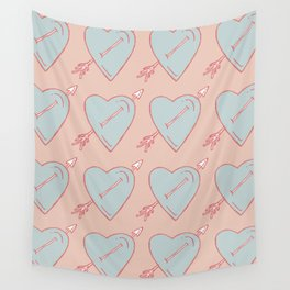 LOVE IS LOVE IS LOVE Wall Tapestry