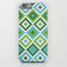 Macrame Green Slim Case iPhone 6s