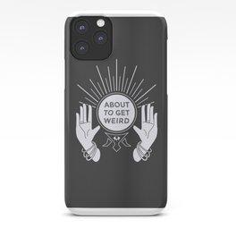 Weird Future iPhone Case