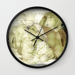 Newport Oregon - Love To Paint Wall Clock