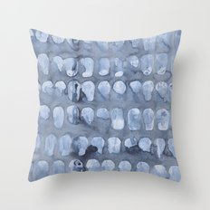 Crying Oysters Throw Pillow