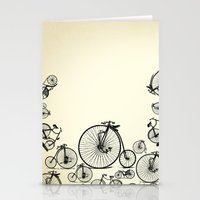 bicycle Stationery Cards featuring Bicycle by mark ashkenazi