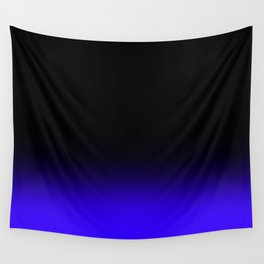 Fade To Blue Wall Tapestry