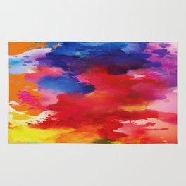 Watercolor Summer Rug