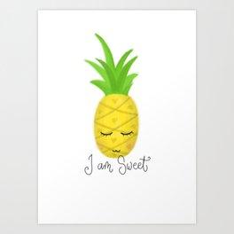I am Sweet Art Print