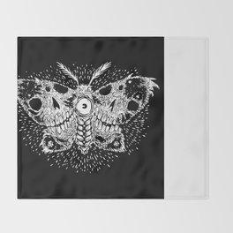 Deathwing Moth Throw Blanket