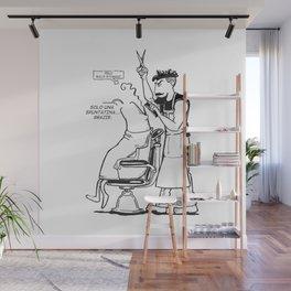 Solo una spuntatina grazie. Wall Mural