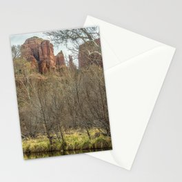 Cathedral Rock and Oak Creek Stationery Cards