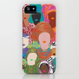Ladies of Eid Two iPhone Case