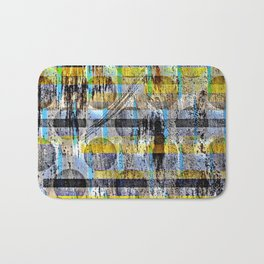 ABSTRACT/LIPSTICK ON A PIG Bath Mat