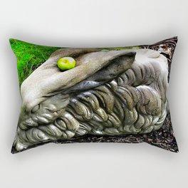Stone rabbit Rectangular Pillow