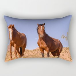 Wild_Horses 3501 - Nevada Rectangular Pillow