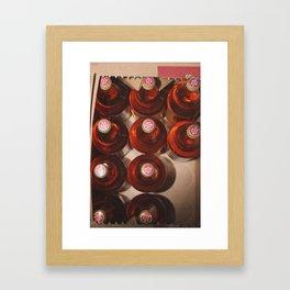 BOX OF E. Framed Art Print