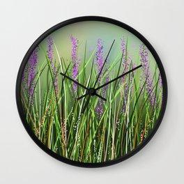 Lavenders Wall Clock