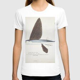 Antique Flyfish drawn by Fe Clarke (1849-1899) T-shirt