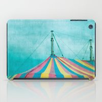 circus iPad Cases featuring Circus by The Last Sparrow