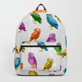 Owl Pattern Backpack