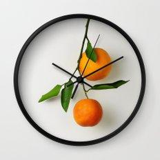 Blood Oranges Wall Clock