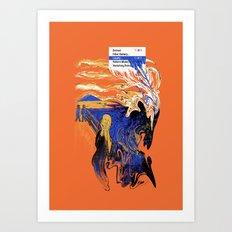 The Liquify Art Print