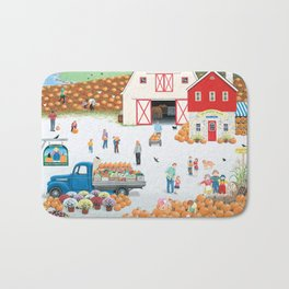 The Harvest Moon Bath Mat