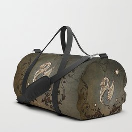 Awesome chinese dragon Duffle Bag